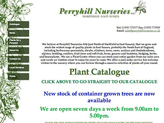 Perryhill Nurseries Ltd